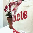 Girl's Personalised Mini Shopper Bag