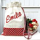 Personalised Drawstring Storage Bag
