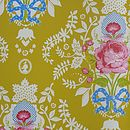 PiP Studio Shabby Chic Yellow wallpaper