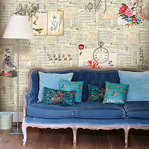 Feeling Papergood Wallpaper By PiP Studio - bedroom