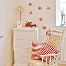Christmas Snowflake Wall Stickers