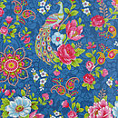 PiP Studio Flowers in the mix dark blue