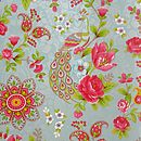PiP Studio Flowers in the mix light blue