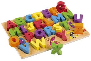 ABC Wooden Puzzle - toys & games