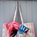Mabel Oilcloth Weekend Bag