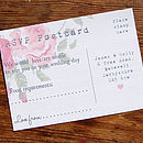 Vintage Flowers Wedding Stationery Range