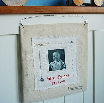 Personalised Photograph Wall Hanging