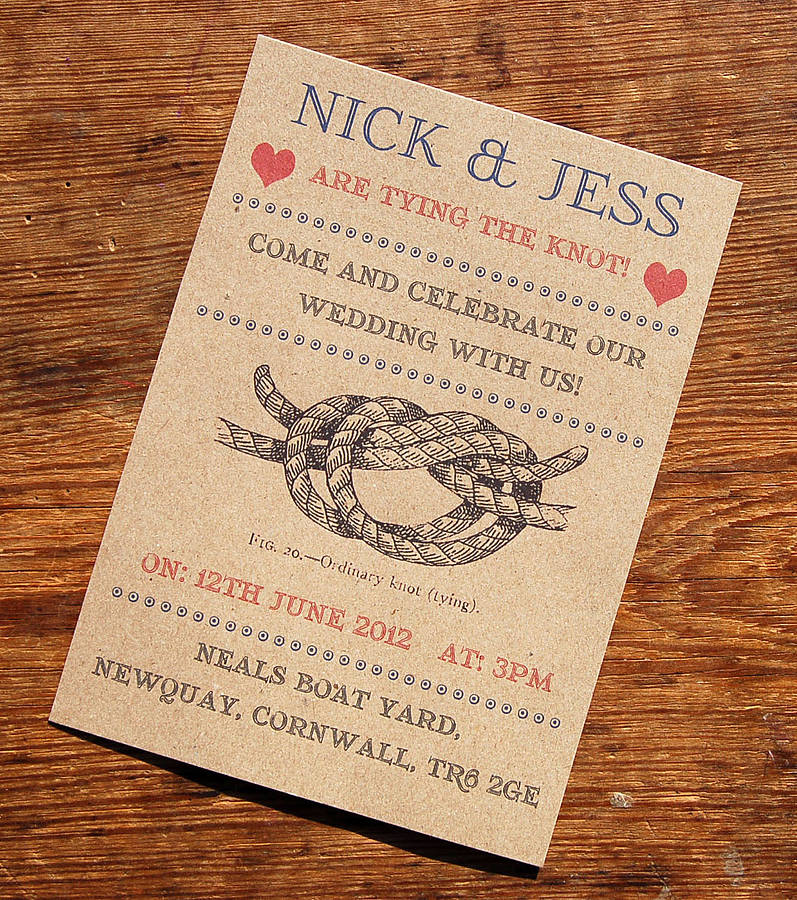 vintage seaside wedding stationery range by a bird  u0026 a bee