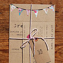 Summer Fayre Wedding Stationery Range