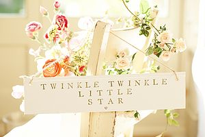 'Twinkle Twinkle' Sign - door plaques & signs