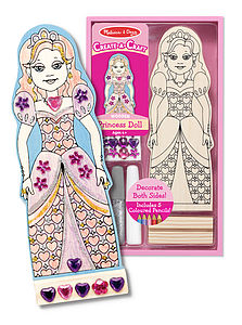 Decorate Your Own Princess Or Ballerina Doll - traditional toys & games