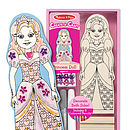 Decorate Your Own Princess Or Ballerina Doll