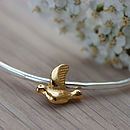 Gold Bird Bangle