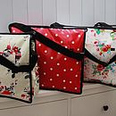 Oilcloth Baby Change Bags
