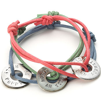 Mens Personalised Polo Friendship Bracelet