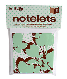 Notelets: Floral - view all sale items
