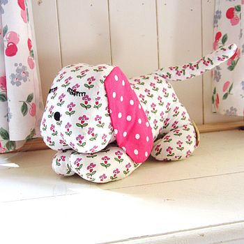 Fair Trade Dog In Floral Or Gingham
