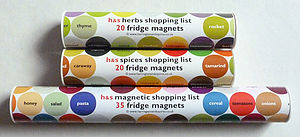 Shopping List Magnets - kitchen