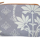Printed Coin Purse Grey