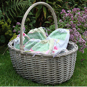 Wicker Basket - decorative accessories