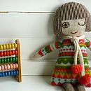 Knitted Lambswool Fairisle Dolly
