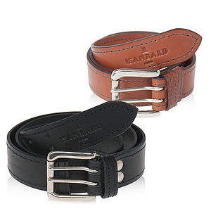 Clifton Leather Two Pin Belt - belts