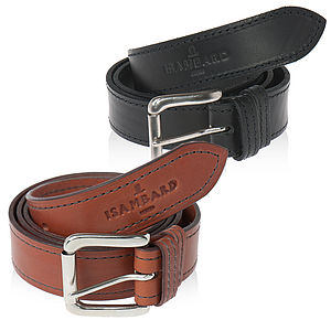 Clifton Leather One Pin Belt - belts