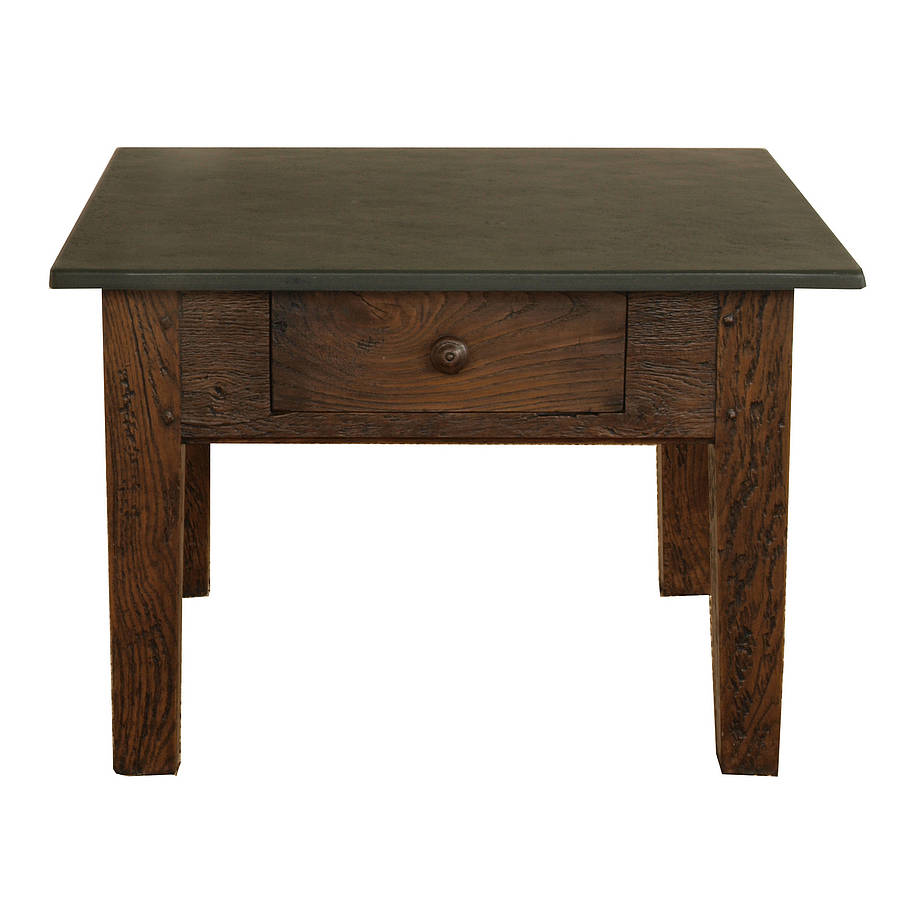 Small slate top coffee table by slate top tables notonthehighstreet