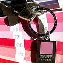 Pantone Chip Keyrings