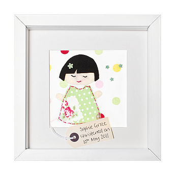Personalised 'Little Emiko Doll' Picture