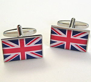 Traditional Union Jack Cufflinks - cufflinks