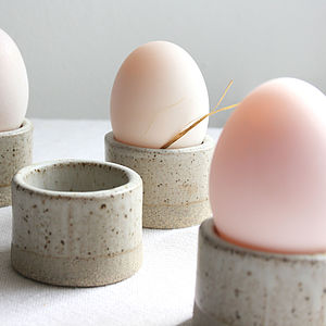 Egg Cup - spring table
