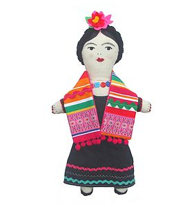 Mexican Doll Sewing Kit - toys & games