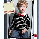Little Boy - STRIPED GENT Top