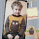 Child's 'Twit Twoo' Owl Jumper