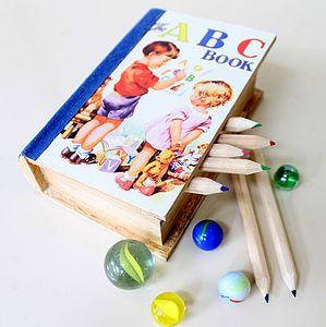 Child's Treasure Book Box - traditional toys & games