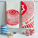 'Tunnocks Teacake' Set Of Two Tea Towels
