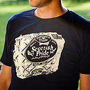 Scottish Pride Mens T Shirt Navy