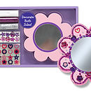 Decorate Your Own Flower Pocket Mirror