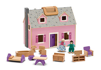 Fold And Go Mini Dolls House