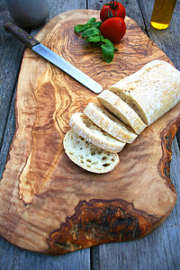 Large Rustic Wooden Serving Board - kitchen accessories