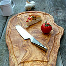 Rustic Chopping Board With Jus Groove