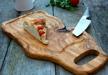 Dual Sided Natural Chopping Board