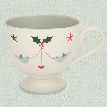 Large Mug - Christmas Bird