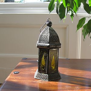Iron Candle Lamp - table & floor lamps