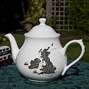 UK Map Teapot