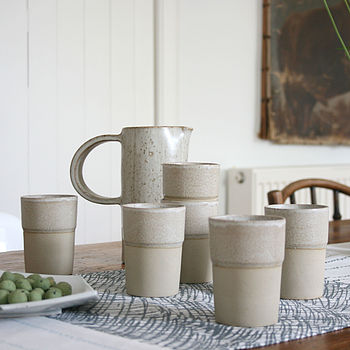Stoneware Wine Cup