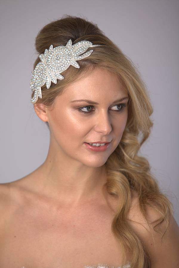 Rose Bridal Hairband
