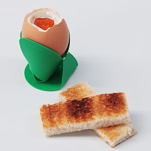 Egg Cups - The Worlds First Flat Egg Cup - kitchen