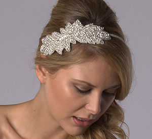 Zara Bridal Hairband - hair accessories